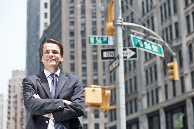 markus dohle, CEO und chairman / random house / kunde: bertelsmann ag / new york 2011 / fotograf: nils hendrik mueller