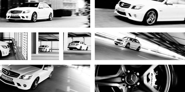 c63amg / kunde: mercedesmagazin / agentur: premiumcom ltd / münchen 2009 / foto: nils hendrik mueller