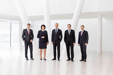 Executive Board Bertelsmann, Vorstand Bertelsmann / Kunde: Bertelsmann / Medium: Geschäftsbericht 2014 / Gütersloh 2015 / Foto: Nils Hendrik Mueller