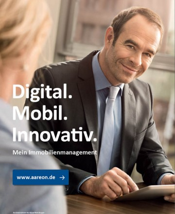 Kunde: Aareon AG / Agentur: Die Firma / Mainz 2014 / Foto: Nils Hendrik Mueller