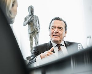Gerhard Schröder, Bundeskanzler a.d. / Kunde: Wirtschaftswoche / Hannover 2016 / Foto: Nils Hendrik Mueller