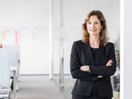 Susanne Stegen, CEO / Kunde: DMG / Hamburg 2016 / Foto: Nils Hendrik Mueller