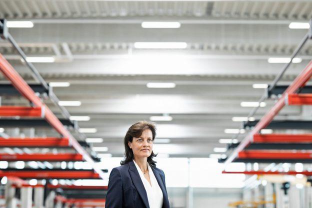 Nicola Warning ( CEO ) / Kunde: KTR Systems / Rheine 2018 / Foto: Nils Hendrik Mueller