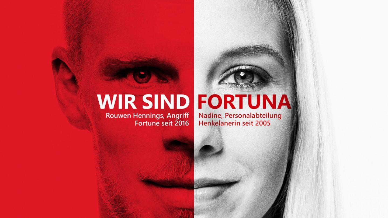 Kunde: Henkel AG / Kampagne Fortuna Düsseldorf / Düsseldorf 2020 / Fotograf: Nils Hendrik Mueller