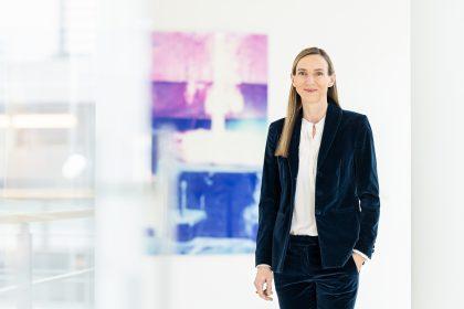Simone Bagel-Trah, Aufsichtsratsvorsitzende / Henkel AG / Geschäftsbericht 2020 / Düsseldorf 2021 / Fotograf: Nils Hendrik Mueller